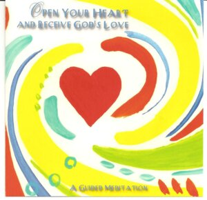 This is the CD cover I designed for the Open your Heart Meditation. The meditation is mentioned in Girls Don't Ride Motorbikes – A Spiritual Adventure Into Life's Labyrinth in Chapter 1.