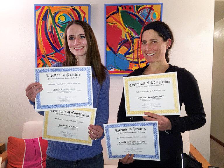Certfied-Reflexology-Graduates-Pittsburgh-Brauer-Institute
