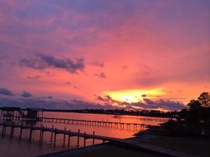 Meditative Sunset